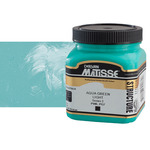 Matisse Structure Acrylic 250 ml Jar - Aqua Green Light