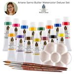 Ariane Sarno Butler Deluxe Set of 15 Turner Watercolors in 15ml Tubes
