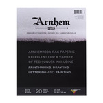 Speedball Arnhem 1618 Printmaking Paper Pad 8.5X11in (20 Sheets, 245gsm/90lb. Gluebound)