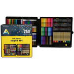 Art Alternatives Kids Art Supply 258 Piece Super Set