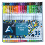 Art Alternatives Fineline Pen Set of 36