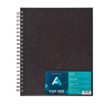 "Art Alternatives 8.5x11"" Double Wire Spiral-Bound Sketchbook 80 sheets - 75lb"