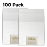 ArtBites Canvas Textured Boards 100 pack