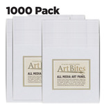 ArtBites Canvas Textured Boards 1000 pack