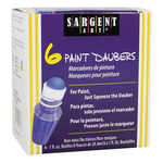 Sargent Art Art-Time Washable Tempera Daubers Set of 6