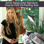 Annie Stegg Signature Charvin Fine Oil Paint Sets