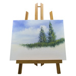 "Artistry Display Easel Bamboo Small 7.5""w x 11""h"