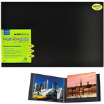 "Itoya ArtProfolio Multi-Ring Mini Refillable Binder 14x11"" Landscape"