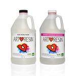 ArtResin Studio Epoxy Resin Gallon Kit 64oz Resin+64oz Hardener