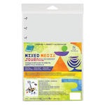 Grafix Mixed Media Assorted Media Sheets 6x9 Disc-Bound Journal