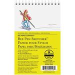 Bee Paper Pen Sketcher 70lb Paper Pad 3.5X5.5