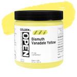 Golden Open Acrylic 8 oz Jar - Bismuth Vanadate Yellow
