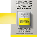 Winsor & Newton Professional Watercolor Half Pan - Bismuth Yellow