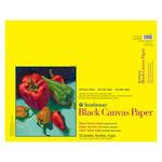 "Strathmore 300 Series Black Canvas Pad 16 x 20"""