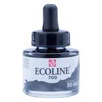Ecoline Liquid Watercolor 30ml Pipette Jar Black