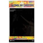 Holtz Alcohol Ink Cardstock 5 x 7 Black Matte 25-Sheets