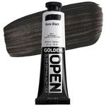 GOLDEN Open Acrylic Paints Bone/Ivory Black 2 oz