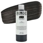 Golden Fluid Acrylic 8 oz Bottle - Bone Black