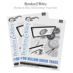 Borden & Riley Vellum Sheer Trace Pad