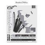 Borden & Riley #116 Artist Drawing Sketch Vellum