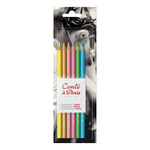 Conté Pastel Pencils Set of 6 - Assorted Colors