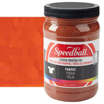 Speedball Fabric Screen Printing Ink 32 oz Jar - Brown