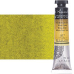 Sennelier l'Aquarelle Artists Watercolor 21ml Tube - Brown Green
