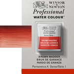 Winsor & Newton Professional Watercolor Half Pan - Brown Madder