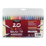 Sargent Art Classic Brush Marker Set of 20 Colors