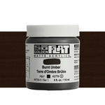 Golden SoFlat Matte Acrylic 4 oz Burnt Umber