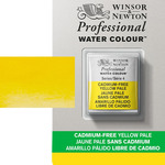 Winsor & Newton Cadmium-Free Yellow Pale Professional Watercolor Half Pan
