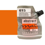 Sennelier Abstract Matt Soft Body Acrylic Cadmium Red Orange Hue 60ml