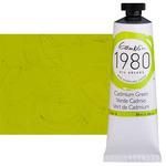 Gamblin 1980 Oil Colors 37 ml Tubes - Cadmium Green