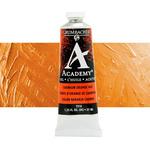 Grumbacher Academy Oil Color 37 ml Tube - Cadmium Orange Hue