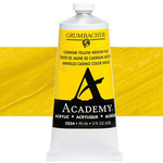 Grumbacher Academy Acrylics Cadmium Yellow Medium 90 ml
