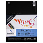 Canson Artist Series Lettering Watercolor Pad (20 Sht) 9X12