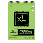 Canson XL Drawing Pad (60 Sheets - Spiral Bound) 9x12""