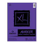 Canson XL Marker Pad (100 sheets - Tape Bound) 9x12""