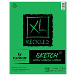 Canson XL Recycled Sketch Pad (100 Sheets - Tape Bound) 11x14""