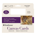 Strathmore Canvas Card 10 Pack 5x6.875""
