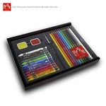 Caran d'Ache Discovery Wooden Box Gift Set of 27