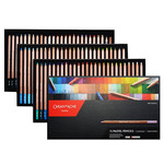 Caran D'Ache Pastel Pencil 76 Color Set + 1 Graftwood and 1 Charcoal Pencil