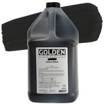 GOLDEN High Flow Acrylic Color 128 oz. - Carbon Black