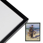 Cardinali Renewal Core 10x20 Black Open Back Floater Frame 3/4 in Canvas