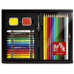 Caran D'Ache 27pc Discovery Wood Box Multi-Product Gift Set