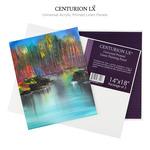 Centurion Universal Acrylic Primed Linen Panels - 3 Packs
