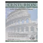 "Centurion Linen Canvas 10 Sheet Pad 16x20"" 11oz Universal Acrylic Primed"