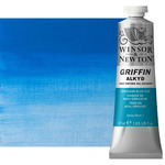 Griffin Alkyd Fast-Drying Oil Color 37 ml Tube - Cerulean Blue Hue