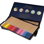 Cezanne Colored Pencils Tin Set of 72 Creative Mark- Ships Free