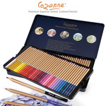 Cezanne Premium Colored Pencils Tin Set of 72